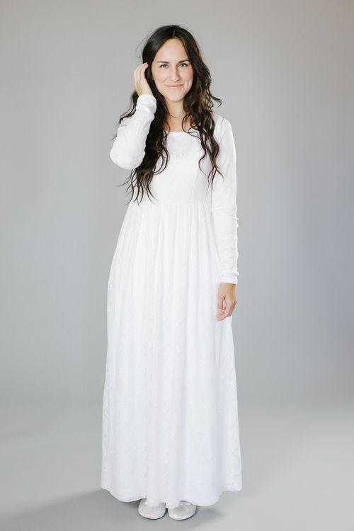 Q.Noor LDS Temple Dress Elaine. LOVE this temple dress!!!