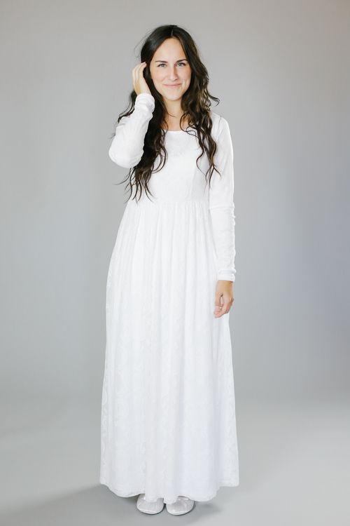 Elaine temples love this and love for Mormon temple wedding dresses