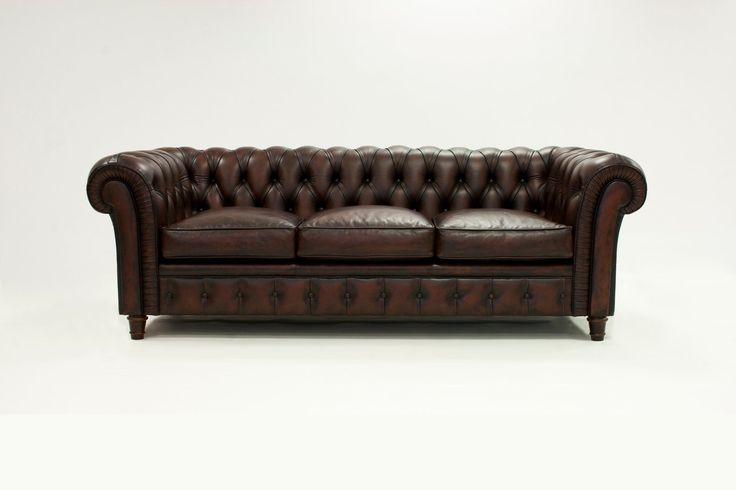SOFA PIEL CHESTERFIELD - Demarques.es
