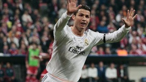Ronaldo breaks Messi goals record