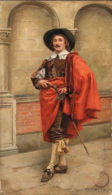 Полузабытые имена - Эрнест Мессонье и его лихие кавалеры: усы и шпага - все при них! — Для случайных записей