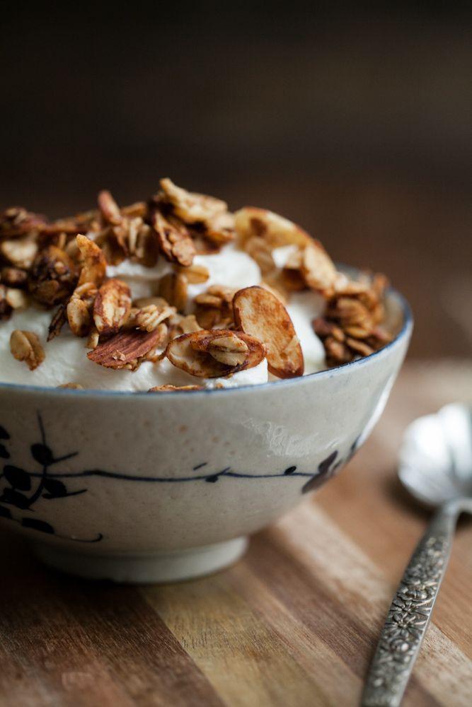 Date-Sweetened Granola | Food Photography | Pinterest