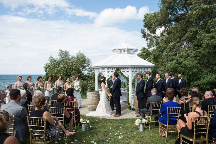 Winery Wedding by Lake Ontario at Legends Estates Winery in Beamsville