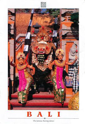 INDONESIA (Lesser Sunda) - Barong Dance (1) - part of Three genres of traditional dance in Bali (UNESCO ICH)