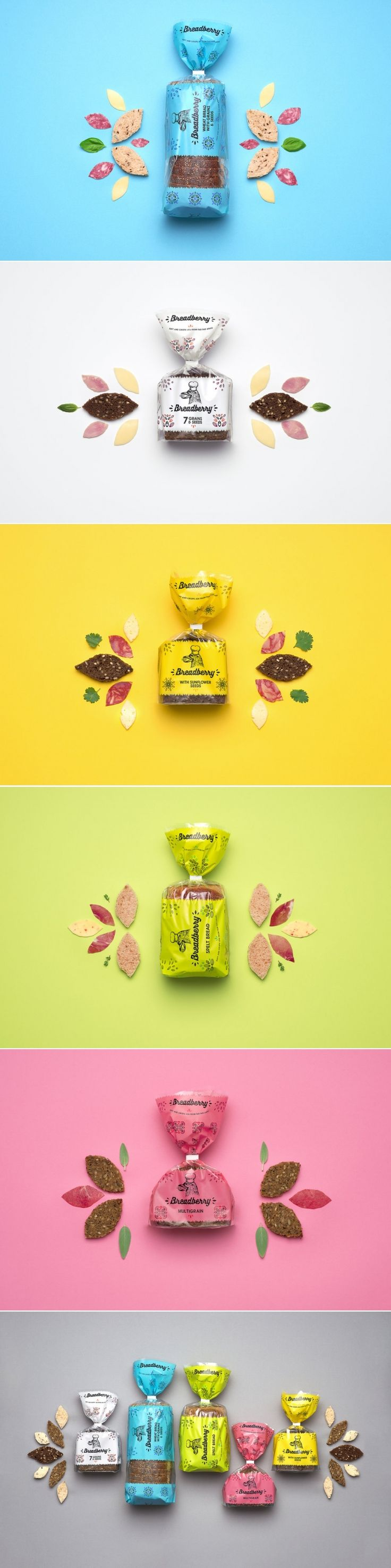 Breadberry. The bread from far far away. — The Dieline - Branding & Packaging Design