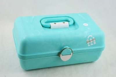 Oh my...I had a pink Caboodles.  What color did you have?!