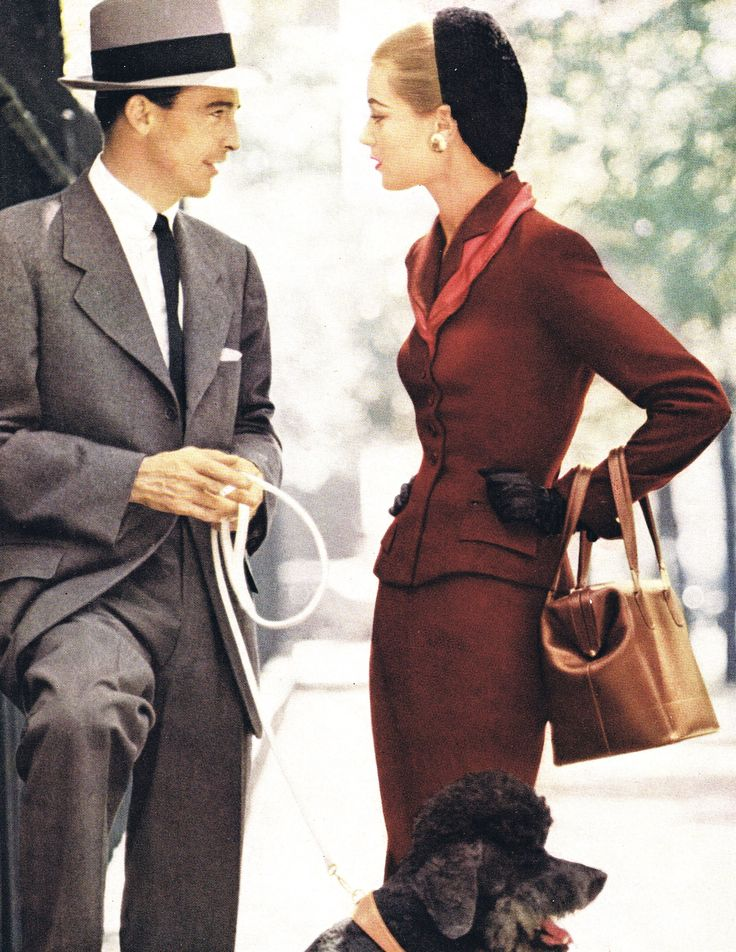 Vogue October 1952 1950s Mens FashionVintage