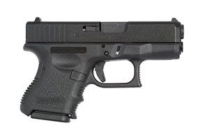 Glock 27 subcompact .40 S 9 1 capacity. This is the off duty choice of lots of LEO's,