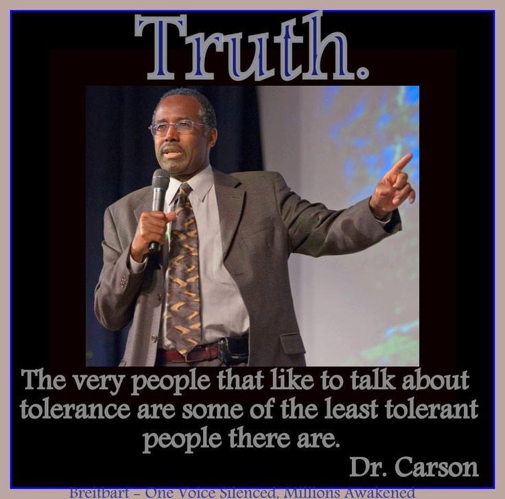 Dr. Carson on liberals.. Right again.