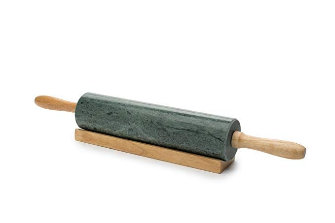 Fox Run 3842 Marble Rolling Pin And Base Green Review Marble
