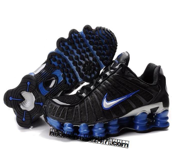 Men\u0027s Nike Shox TL Shoes Black/Blue/Silver Online Price: - Air Jordan Shoes,  New Jordan Shoes, Michael Jordan Shoes
