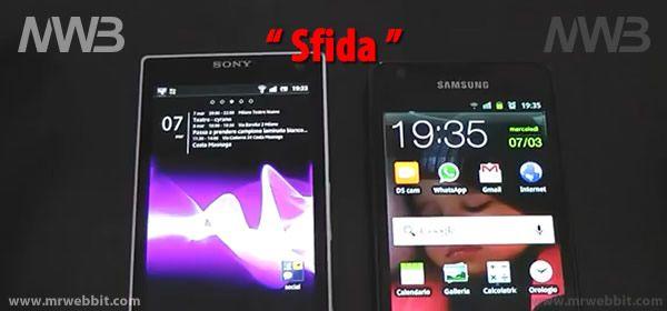 In questo video un testa a testa fra Sony Xperia S e Samsung Galaxy S2, scopriamone le differenze e punti di forza dei due smartphone.