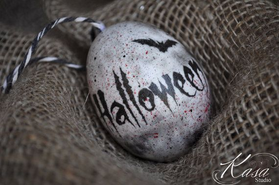 Check out this item in my Etsy shop https://www.etsy.com/uk/listing/465052240/halloween-egg-real-hand-decorated