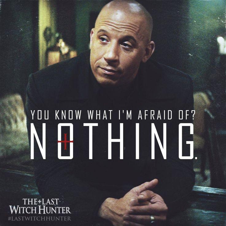 Them's fightin' words, Vin Diesel. The #LastWitchHunter opens in cinemas October 29.