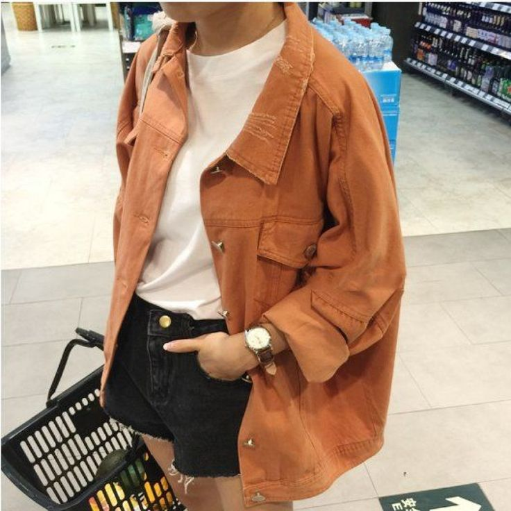 #CamelBrown #Oversized #DenimJacket #AW15 £27.99 @ ShanghaiTrends.co.uk / http://shanghaitrends.co.uk/camel-brown-oversized-denim-jacket