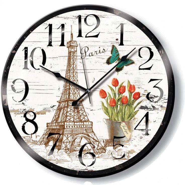 Yuvarlak Antik Paris Duvar Saati, Yuvarlak Antik Paris Duvar Saati Ürün Bilgisi ;Ürün maddesi : Gövdesi : Plastik, bombeli gerçek cam Ebat : 48cm Büyük boy Mekanizması : Aka
