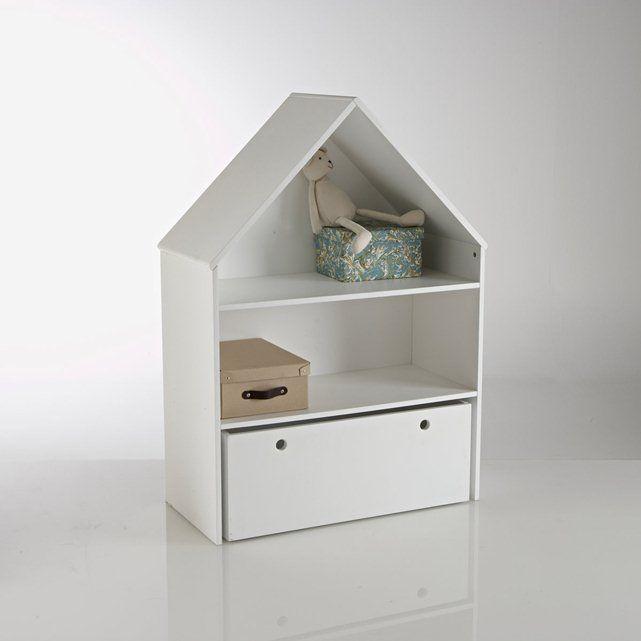 Estantería de almacenaje ancha + cajón, Selisa LA REDOUTE