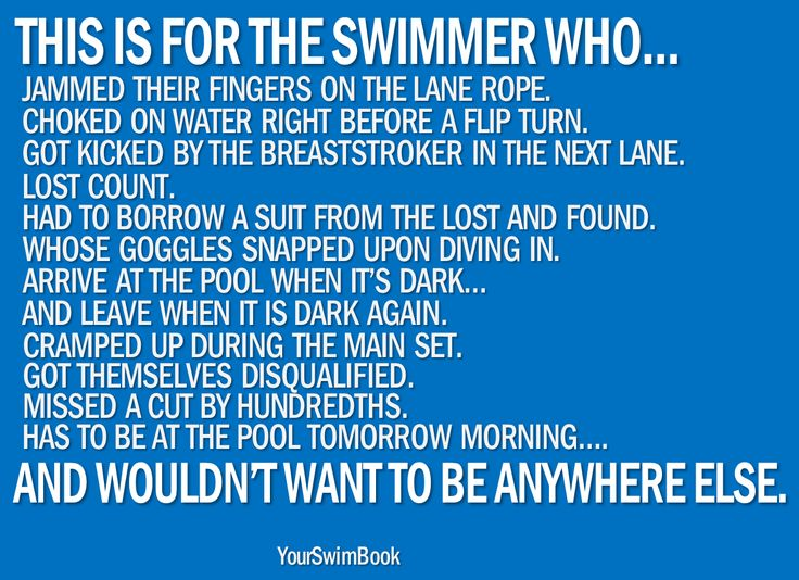 Swimming Quotes Unique 1349 Best Swimming Images On Pinterest  Swim Competitive Swimming