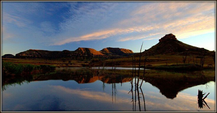 Landscape reflection by Andrew Metcalf Photography.