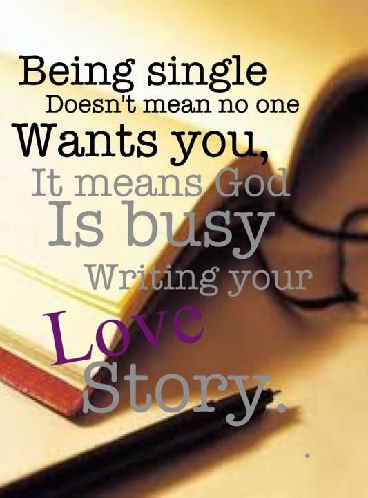 To my lovely single friends...