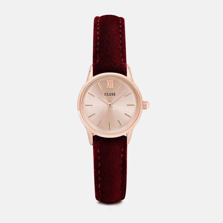 La Vedette Rose Gold/Red Velvet