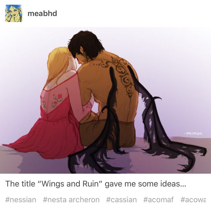 NESSIAN FEELS!! What if Cassian's wings are healed with spidersilk??!!