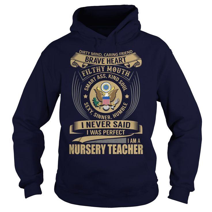 Nursery Teacher We Do Precision Guess Work Knowledge T-Shirts, Hoodies. SHOPPING NOW ==► https://www.sunfrog.com/Jobs/Nursery-Teacher--Job-Title-101746777-Navy-Blue-Hoodie.html?id=41382