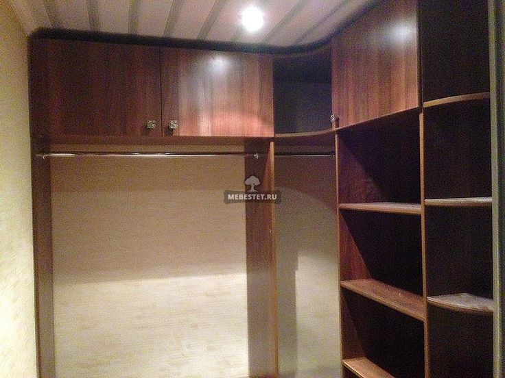 Угловой шкаф гардеробная