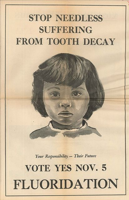 Fluoridation ballot measure campaign material, 1968: Photo