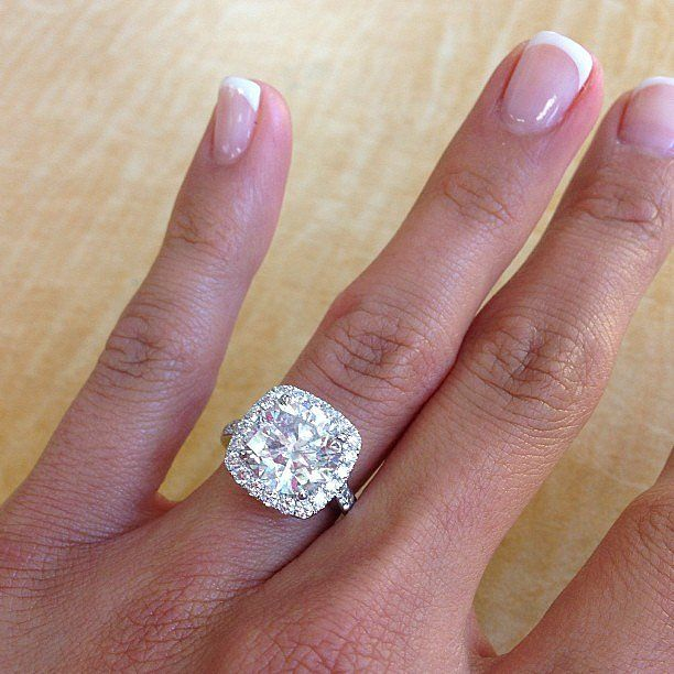 51 real girl engagement rings massive enough to ice skate on - How Do Wedding Rings Work