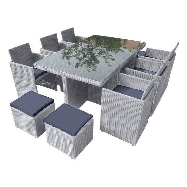 salon jardin portovecchio r sine salon de jardin leroy. Black Bedroom Furniture Sets. Home Design Ideas