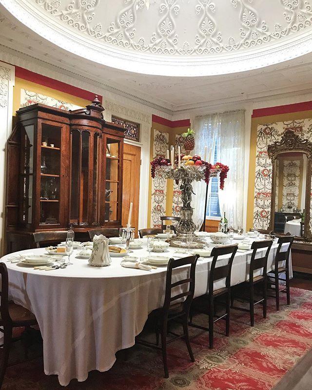 "Gaineswood på Instagram ""Whitfield's elegant dining room"