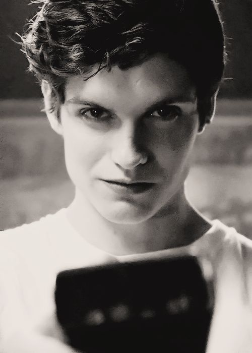 "Daniel Sharman - Isaac in Teen Wolf ""Motel California""-------Um.....whats my name again?    this is a freaking picture and I'm blushing!!!"