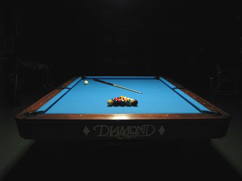 diamond pool tables | Cue & Cushion - Pool Tables, Custom Cues, Billiard Parlor