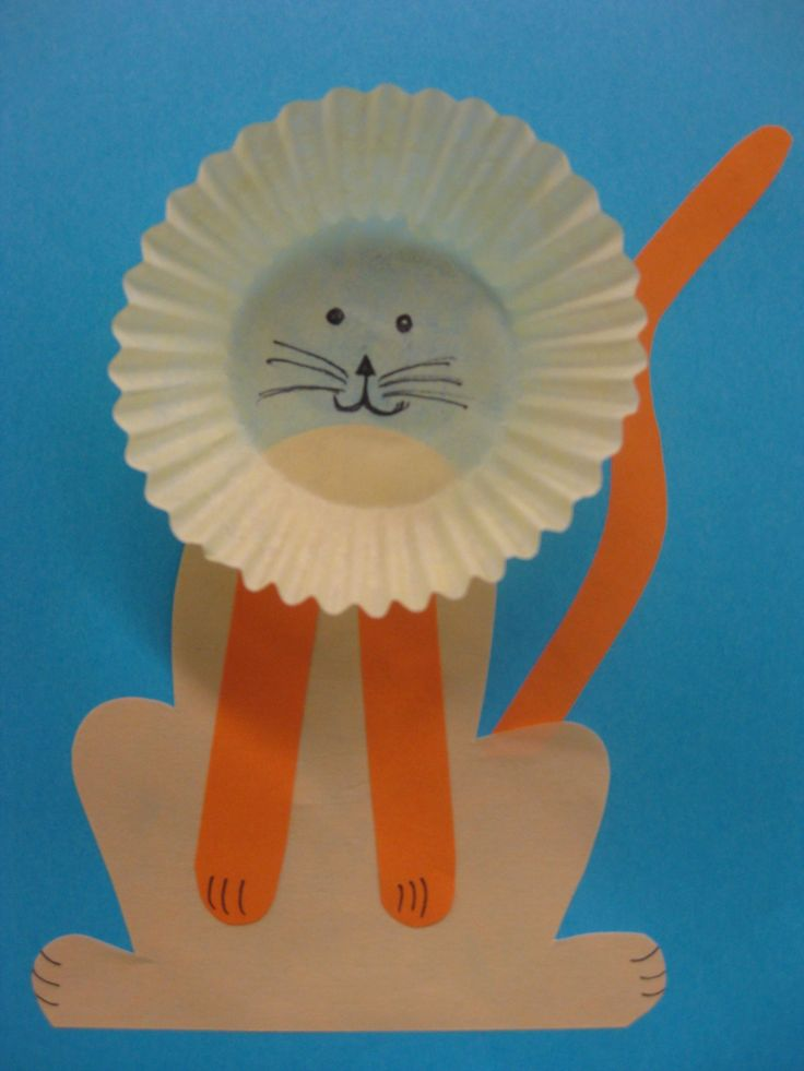68 best circus animal crafts images on pinterest for Lion crafts for toddlers