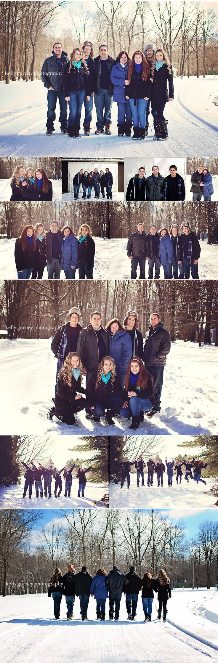 Winter Family Session | Kelly Gorney Photography