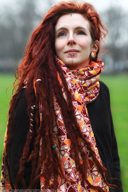 I hope someday my dreads will be this natural and beautiful. They're CRAZY loopy and gnarly looking right now.