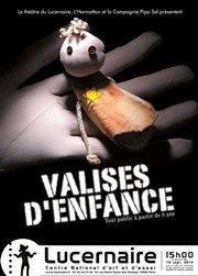 Valises d'enfance/ Théâtre Le Lucernaire   http://hip.univ-orleans.fr/ipac20/ipac.jsp?session=138TH38729472.16&menu=search&aspect=subtab48&npp=10&ipp=20&spp=20&profile=scd&ri=&term=valises+d%27enfance&limitbox_1=none&index=.GK