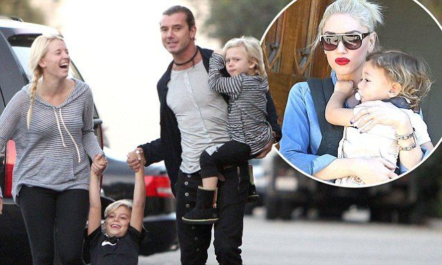 Gavin Rossdale 'left Gwen Stefani in hospital to sleep with nanny'