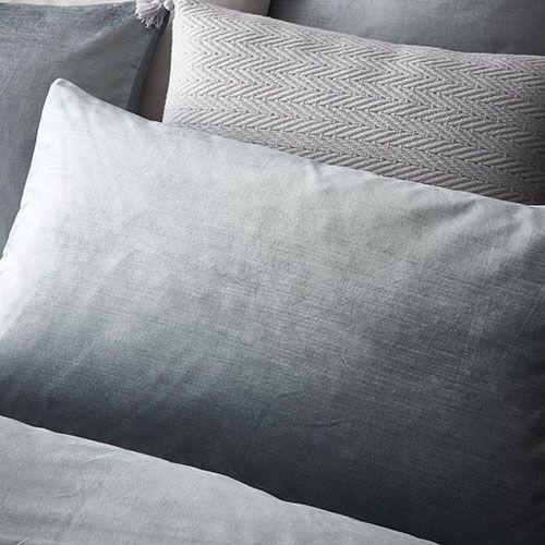 Mercer + Reid - Luxe Velvet Quilt Cover Duck Egg - Bedroom - Quilt Covers & Coverlets - Adairs Online