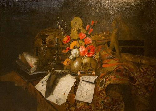 Pyhäinpäivä. Nobertus Gysbrechts, 1660, Asetelma. Sevillan Taidemuseo, Sevilla, Espanja. Valokuva Marco Peretto.