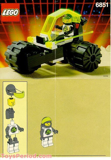 Tri-Wheeled Tyrax Free Instruction Page 1