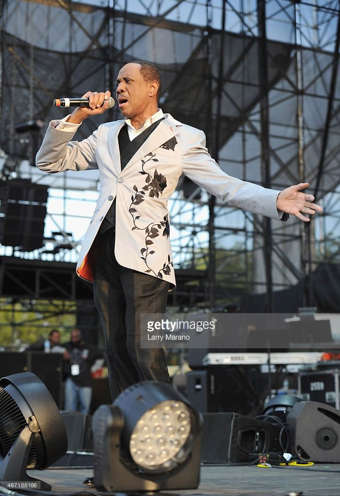 Freddie Jackson performs onstage at the 10th Annual Jazz in The Gardens: Celebrating 10 Years of Great Music at Sun Life Stadium on March 21, 2015 in Miami Gardens, Florida.