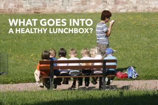 What goes into a healthy lunchbox? - Cooking for Busy Mums