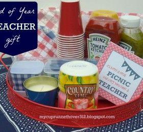 7 End of School Teacher Gifts
