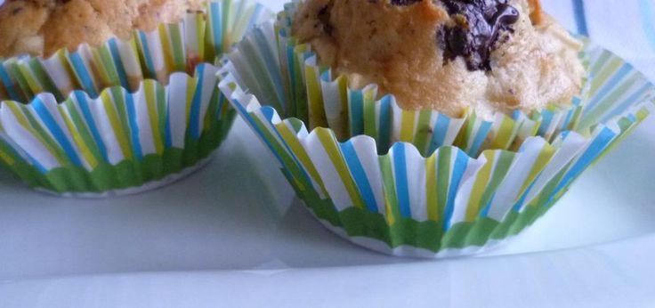 Muffiny z jabłkami i czekoladą  - main