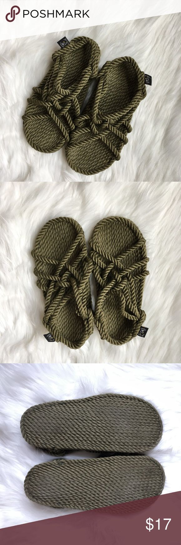 Nomadic State of Mind Air Jesus Roe Shoes Handmade and super lightweight. Great Condition. Urban Outfitters Shoes Sandals