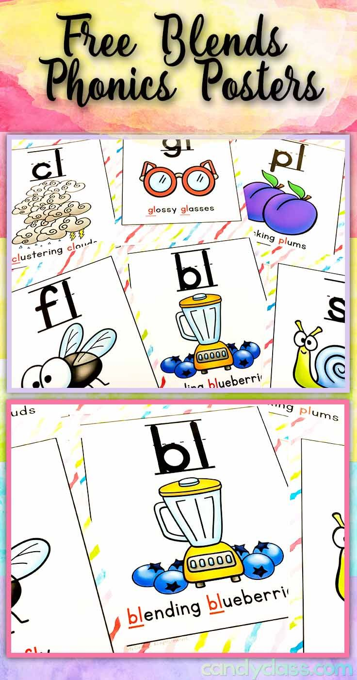 Worksheet Blends Activities 1000 images about blends on pinterest phonics centers student snag up these free posters for print them to use as anchor charts