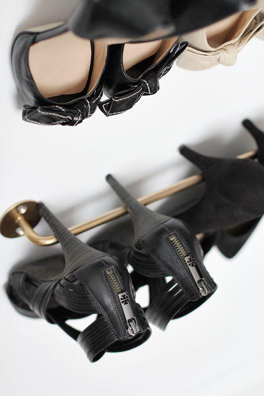 Towel Rod = Heeled Shoe storage Trendenser.se - en av Sveriges största inredningsbloggar
