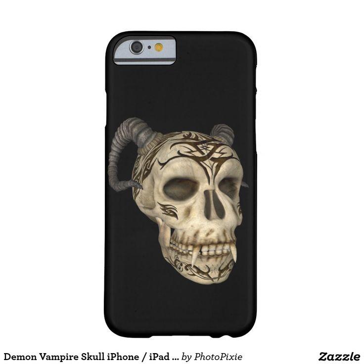 Demon Vampire Skull iPhone / iPad case